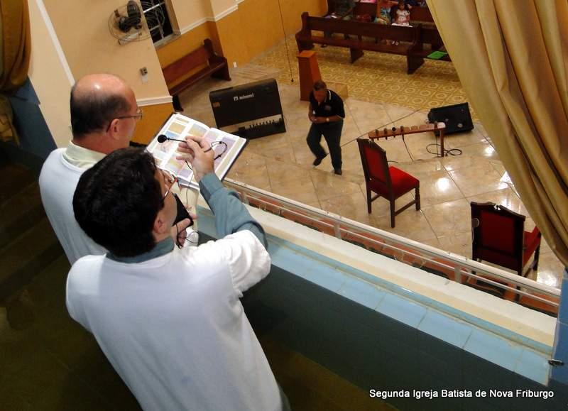 Batismos Noite de Vigília 2012