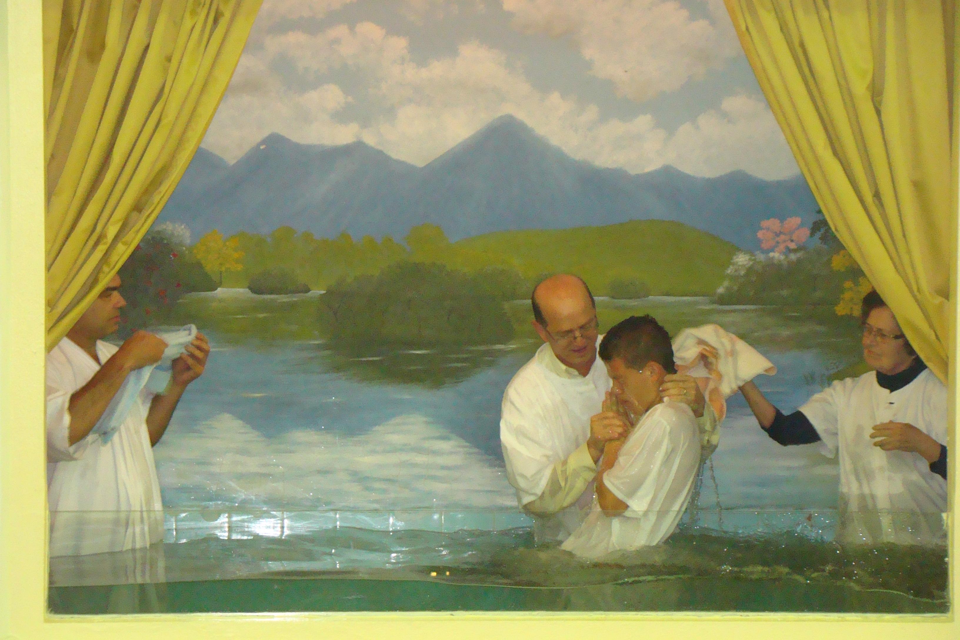 Celebração de Batismos